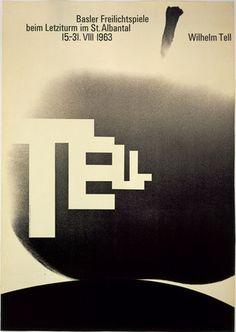 Flyer Goodness: International Typographic Style (Swiss Style) by Armin Hofmann