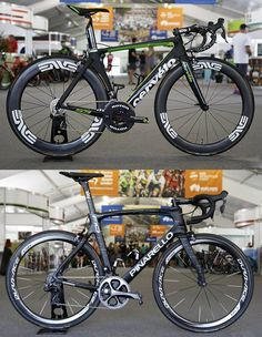 It's top or bottom Tuesday! This week it's Dimension Data's Cervelo S5 vs Team Sky's Pinarello F10. You decide the winner... Go!