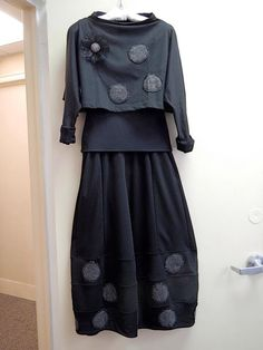 Love the circle applique - would love to do this to the new Marcy Tilton skirt