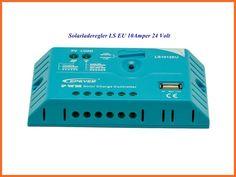 10A PWM Solarladeregler, Laderegler, Solaregler für Systemspannungen von 24