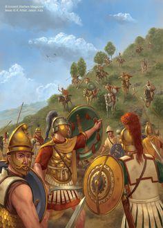Battaglia delle Termopili del 191 a.C. tra Seleucidi e Romani, terminata con la vittoria dei secondi grazie alla conoscenza del passo di montagna che aveva permesso ai persiani di batteri le forze greche nel 480.
