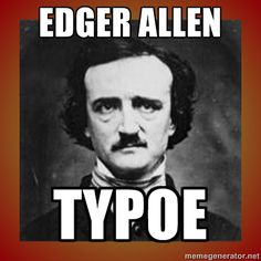 Edgar Allen Poe. The Sexiest Old White Men of American Literature.