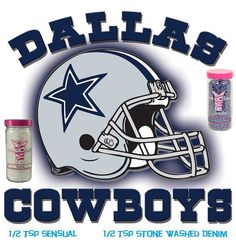 Pink Zebra Sprinkle Fragrance Recipe #Dallas Cowboys cheering for your favorite team with a custom scent to match!   Order your sprinkles here. Combine- Stone Washed Denim & Sensual for the winning combination pinkzebra_Jeanne@yahoo.com
