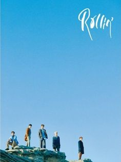 B1A4 7th Mini Album [Rollin'] Blue Ver. K-POP CD+Photobook+Photocard+Poster #Pop