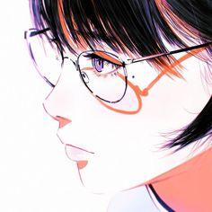depth of field by Kuvshinov-Ilya on DeviantArt Anime Art Girl, Manga Art, Manga Anime, Yuumei Art, Kuvshinov Ilya, Realistic Eye Drawing, Drawing Eyes, Depth Of Field, Deviant Art