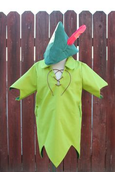 Peter Pan Shirt and Hat