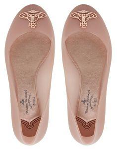 Image 3 of Vivienne Westwood for Melissa Divine Ballet Flats