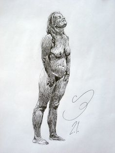 Drawing of a women