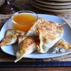 Homemade Crab Rangoon - tastes exactly like Chinese take-out!!