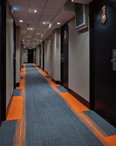 Carpet tiles ideas for your dream house 00008 - pokmnwasx Carpet Design, Floor Design, Tile Design, Pattern Design, Corridor Lighting, Hotel Corridor, Office Carpet, Corridor Design, Hotel Carpet