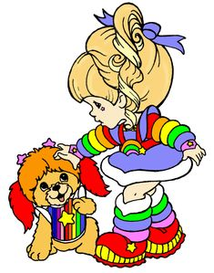 Rainbow Brite & Puppy Brite