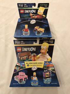 Lego Dimensions The Simpsons Level And Fun Pack (71202),(71211)  | eBay