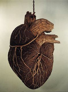 by Dimitri Tsykalov. out of wood, bark & soil. his work is amazing