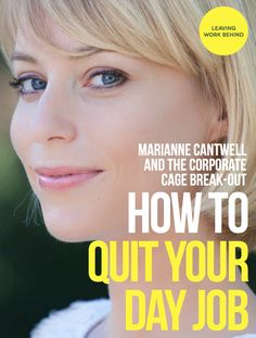 """Foundr Magazine interviews lifestyle entrepreneur MARIANNE CANTWELL, who works in helping people find their driving passion, breaking free from the corporate cage and creating """"free-range"""" careers. (For a FREE TRIAL to Foundr Magazine go to the link at the top of the page under the board description)."""