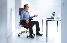 Fotele obrotowe Active to wygodne siedziska biurowe do wielogodzinnej pracy,