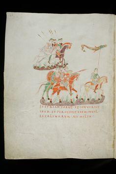 Golden Psalter (Psalterium aureum) of St. Gall - Psalterium Gallicanum f. 140