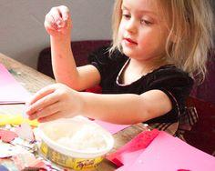 Craft Knife: Cornstarch Glue, and Valentines, Too
