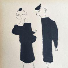Creating Ink Figures | Carla Sonheim