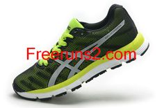 Asics Gel Hyper 33 Gentlemen Mens Black Neon Yellow half off Asics Shoes
