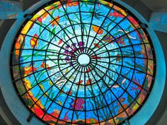 underwater scene stained glass - - Yahoo Image Search Results