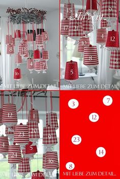 With attention to detail: Advent with me . (M) an Advent calendar. - With attention to detail: Advent with me . (M) an Advent calendar. Noel Christmas, Christmas Crafts, Christmas Decorations, Holiday Decor, Diy For Teens, Diy For Kids, Advent Candles, Diy Tumblr, Advent Calenders