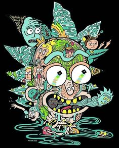 Check out this awesome collection of Rick and Morty Trippy Spaceship wallpapers, with 16 Rick and Morty Trippy Spaceship wallpaper pictures for your desktop, phone or tablet. Trippy Wallpaper, Cartoon Wallpaper, Rick Wallpaper, Rick Und Morty Tattoo, Rick And Morty Drawing, Rick I Morty, Trippy Rick And Morty, Rick And Morty Poster, Trippy Drawings