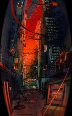 fisheye placebo   Fisheye Placebo: Back Alley • Wenqing Yan   Pixel Mostaza ...