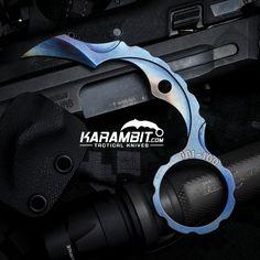 The Max Venom Ti-Bite Last Ditch Neck Knife - Karambit.com