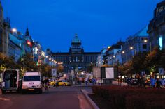 CZ-Prag-Václavské nám.