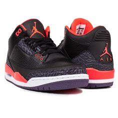 Nike Air Jordan 3 Bright Crimson - Magarderobe