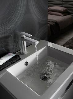 Solo Basin Monobloc (Finish: Chrome) in Bathroom Taps Bathroom Taps, Bathrooms, Basin Taps, Sink, Chrome, Bathtub, It Is Finished, Home Decor, Sink Tops