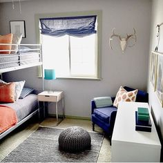 Thanks for the tag @afpdesign!  We are loving this cool bunk room.  Hashtag #decorforkids for a chance to be featured!