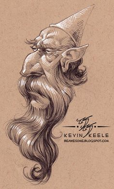 kevin keele | Be Awesome: Sketchbook January '14