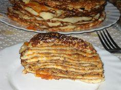 Waffles, Pancakes, Crepe Cake, Mille Crepe, French Toast, Fudge, Vanilla, Pork, Meat