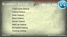 Crime Scene Cleanup Palm coast FL   1-888-522-7794   Death,Blood,Crime Scene Cleanup