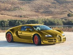 Gold Bugatti | 24 karat gold Bugatti Veyron Super Sport | Flickr - Photo Sharing!