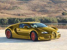 Gold Bugatti | 24 karat gold Bugatti Veyron Super Sport | Flickr - Photo Sharing!