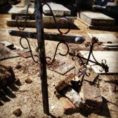 Crosses in Almudena cementery