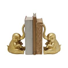 Trunk Twins Bookends