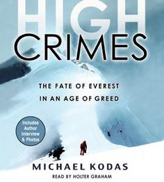 I like reading books about people climbing Everest. It makes me feel more sane. : )