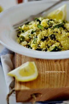 """Dafne's Corner """" il Gusto"""": Cous cous con verdure, stracciatella di uova e pecorino fresco al pepe nero"""