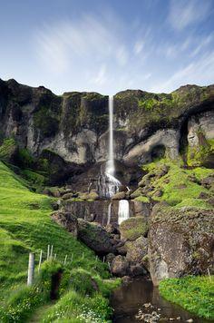 Foss a Sidu Waterfall, Iceland (by daitoZen)