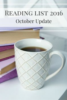 I finished September agonisingly close to my 40 book Reading List target for 2016, and October was the month that I sailed past that target. Find out which books I added to my list during October