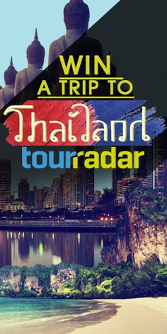 Win a Trip To Thailand LOVE TO WIN!!