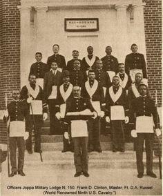 Buffalo Soldiers - Famous Prince Hall Masons