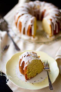 Almond Lavender Cake  Recipe © Rikki Snyder Photography http://www.tasteofhome.com/Recipes/Almond-Lavender-Cake