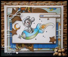 Astronaut Henry ~ Whiff of Joy Craftwork Cards, Vixx, Blank Cards, I Card, Banner, Joy, Astronaut, Handmade Cards, Stamping