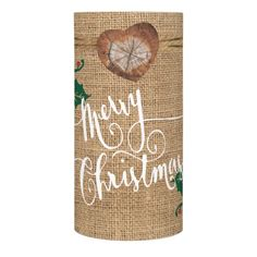 Shop Burlap Texture Merry Christmas Flameless Candle created by Christmas_Dreams. Happy Christmas Day, Merry Christmas, Christmas Gifts, Christmas Decorations, Flameless Candles, Led Candles, Christmas Candle Holders, Custom Candles, Farmhouse Christmas Decor