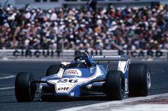 Jacques Laffite, Ligier JS11/15 Paul Ricard, 1980.