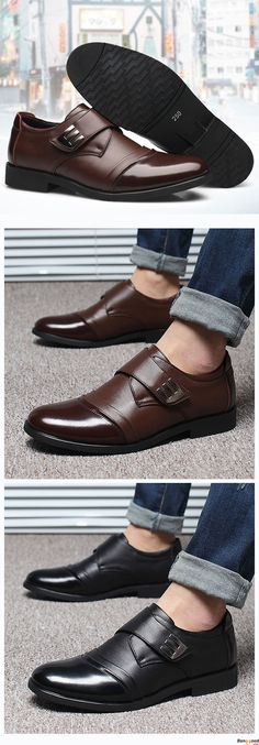 US$49.99 + Free Shipping. Men Hook Loop Genuine Leather Formal Business Shoes . 2 colors available. Men formal shoes, casual comfortable shoes,  oxford shoes, boots, Fashion and chic, casual shoes, men's flats, oxford boots,leather short boots,loafers, formal suits, men's style, chic style, fashion style.  Shop at banggood with super affordable price. #men'sshoes#men'sstyle#chic#style#fashion#style#wintershoes#casual#shoes#casualshoes#boots#oxfordshoes#loafers#flats#formal#formalshoes
